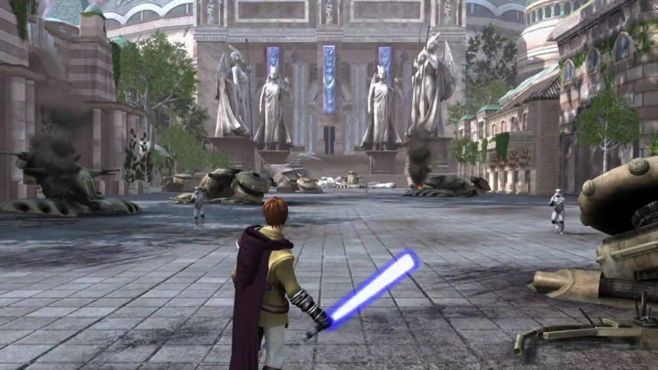 Xbox360 E3 2010 Star Wars Kinect Trailer Youtube