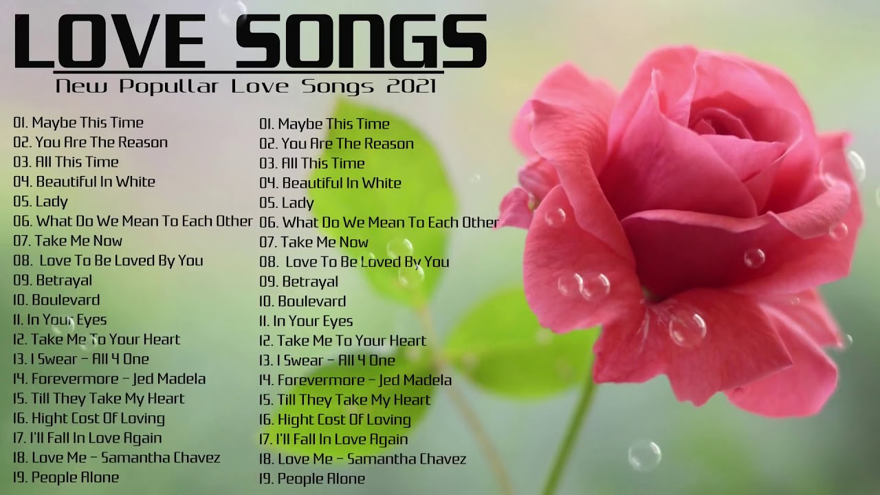 Most Old Beautiful Love Songs 80's 90's Best Love Songs Ever Romantic Love Songs 2021