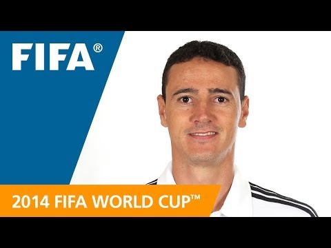 Referees at the 2014 FIFA World Cup™: WILMAR PEREZ