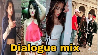 Latest tiktok dialogue mix videos|aagaye mera maut ka Tamasha dhkne