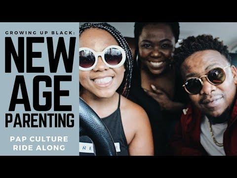 GROWING UP BLACK: NEW AGE PARENTING ft. JR | Pap Culture Ride Along