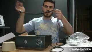 audio technica m series   ath m50x ath m40x unboxing comparison