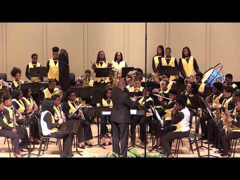 E.E. Smith Symphonic Band - Star Spangled Banner - John Clayton