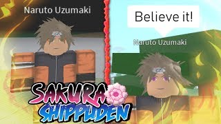 1v1 Against Sage Mode Naruto Uzumaki in Sakura Shippuden!!! | Roblox