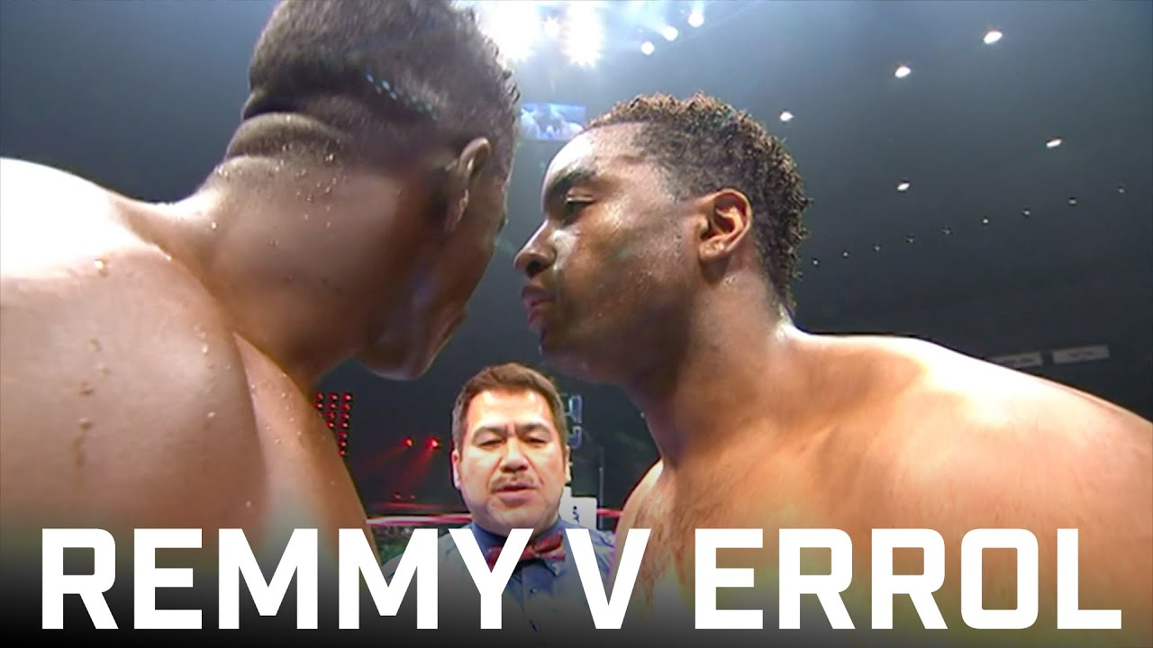 Errol Gets in Remy's Face: Remy Bonjasky v Errol Zimmerman