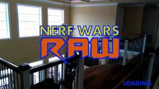 Nerf Wars Raw: Brawl at the Beach House