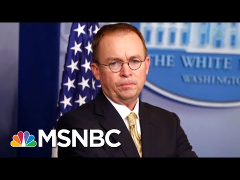 Rodgers: Mulvaney Controversy Raises Legal Questions About Bribery | Andrea Mitchell | MSNBC