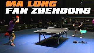 Ma Long and Fan Zhendong Training | T2 Diamond 2019 Malaysia