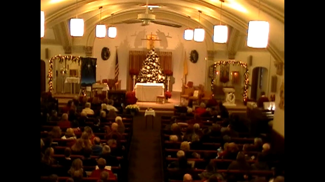 St. Ann's Christmas Eve Mass  12-24-11