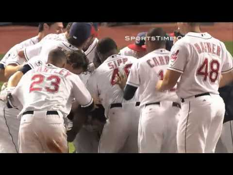 Jason Kipnis Gets First Major League Hit in Walk-Off Fashion