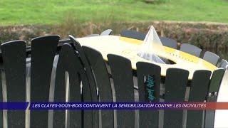 Yvelines | Les Clayes-sous-Bois continuent la sensibilisation contre les incivilités
