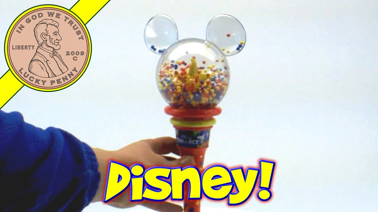 Disney On Ice Show Mickey Mouse Spinning Star Light Wand