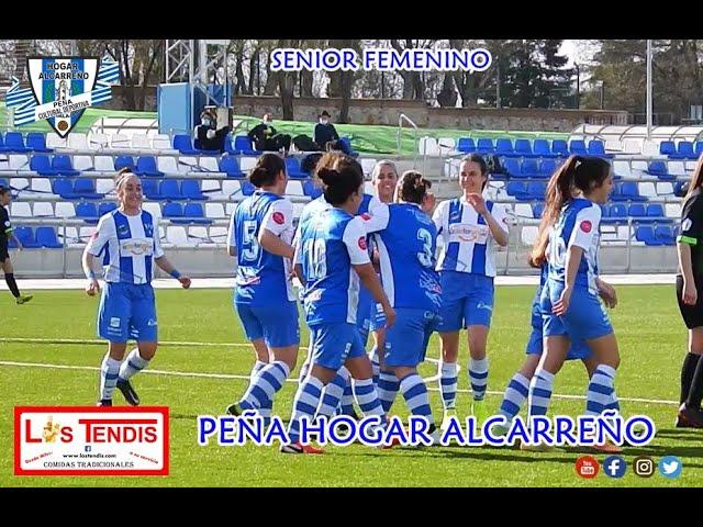 HOGAR ALCARREÑO  2 - 0  C.D.  TORRIJOS  FEMENINO .17 FEBRERO 2021  PEÑA HOGAR ALCARREÑO. LOS TENDIS