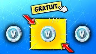PLEASE FREE Of the VBUCKS THANKS TO THE CREATOR SOUTIEN ON FORTNITE!