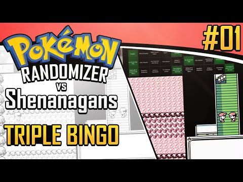 Pokemon Randomizer Triple Bingo vs Shenanagans #1