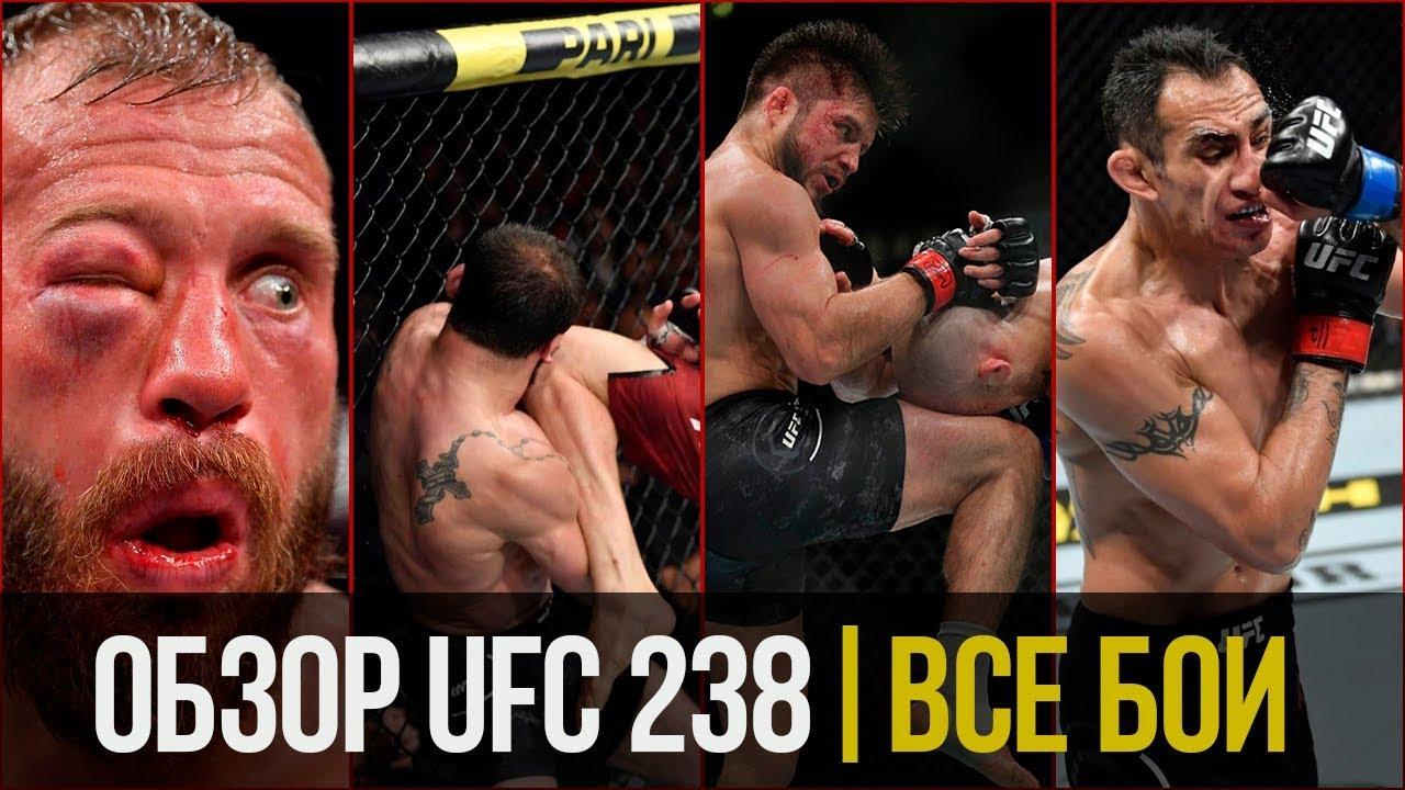 ОБЗОР UFC 238 | ВСЕ БОИ | Тони Фергюсон, Дональд Серроне, Сехудо, Мораес, Шевченко, Петр Ян, Попов