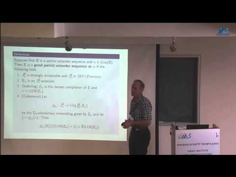 W. Hugh Woodin (Harvard University) The comparison obstruction