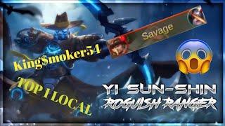 Savage by Top 1 Local Yi Sun Shin Kingmoker54