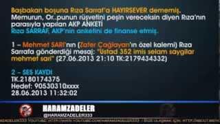 AKP Anketleri Rüşvet Parasıyla Yapılıyor - Finansör Bahşişçi Reza