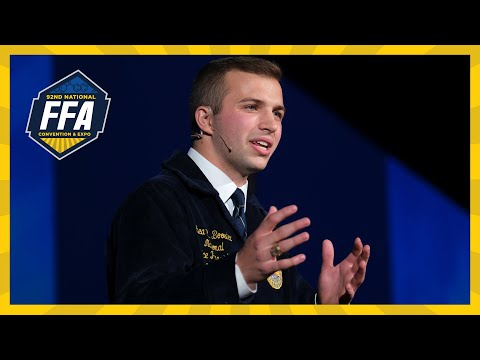 Shea Booster Retiring Address | 2019 National FFA Convention & Expo