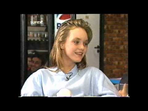 Vanessa Paradis , interview on Super Channel 1988 by Nicky Campbell about debut Joe Le taxi