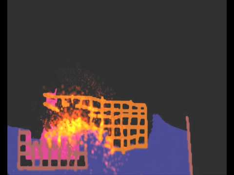OE Cake Stuff: Burning Building Simulation