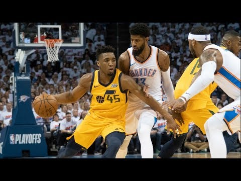 Rookie Donovan Mitchell Dominates 4th QTR Game 2! 2018 NBA Playoffs
