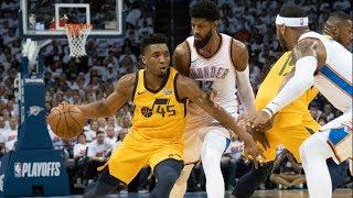 Rookie Donovan Mitchell Dominates 4th QTR Game 2! 2018 NBA Playoffs