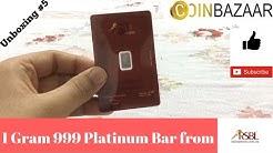 1 Gram Platinum