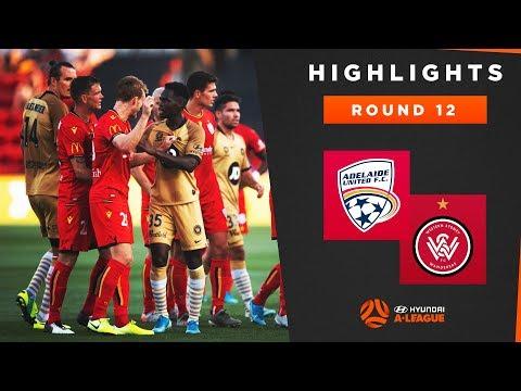 Highlights: Adelaide United V Western Sydney Wanderers FC – Round 12 Hyundai A-League 2019/20 Season