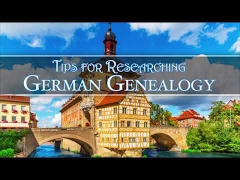 Tips for Researching German Genealogy | AF-005