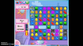 Candy Crush Level 385 Audio Talkthrough, 3 Stars 0 Boosters
