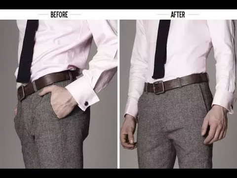 How To Tuck In Your Shirt Properly Easy Tutorials Youtube
