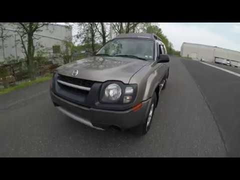 4K Review 2004 Nissan Xterra 4WD 5-Speed Manual Transmission Virtual Test-Drive and Walk around