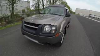 4K Review 2004 Nissan Xterra 4WD 5-Speed Manual Transmission Virtual Test-Drive and...