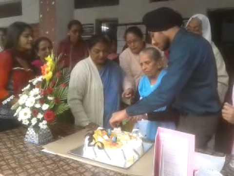 Birthday celebration of President of Cantt Khalsa School.