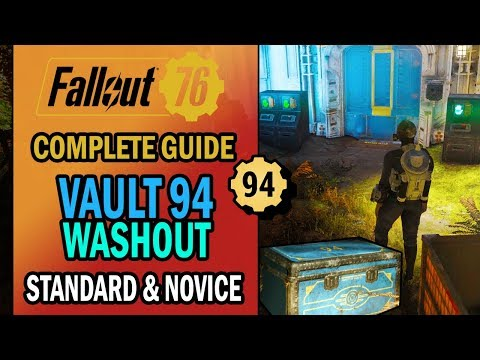 Fallout 76 - Vault 94 Raid - Washout: All You NEED to KNOW