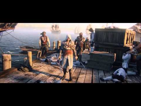 Assassin's Creed IV: Black Flag World Premiere Trailer [Royksopp Forever Dub]