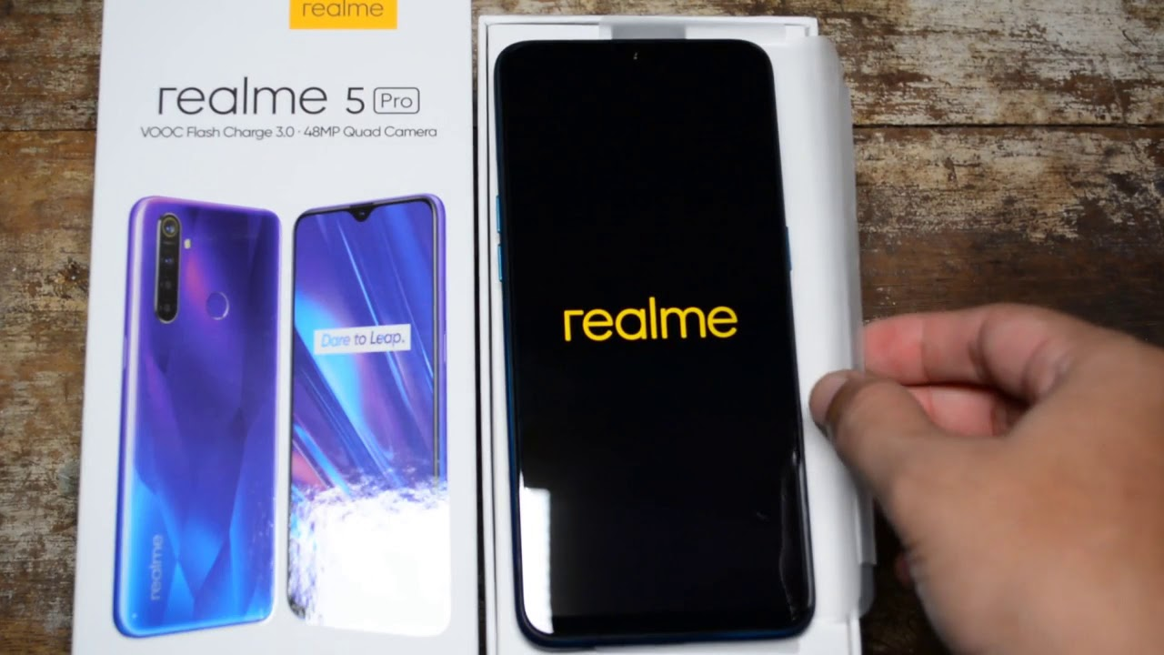 Unboxing Review Realme 5 Pro Ram 8gb Rom 128 Gb Indonesia Youtube