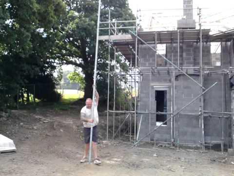Scaffolding tricks.uprite 26 foot