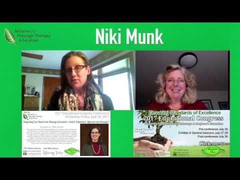 Dr. Niki Munk & Ruth Werner | 2017 Educational Congress Interviews