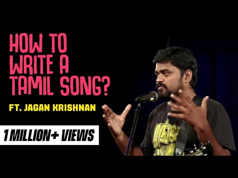 How to write a Tamil Love Song? - Stand up comedy by Jagan Krishnan