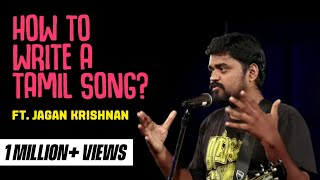 How to write a Tamil Love Song? Stand up comedy by Jagan Krishnan