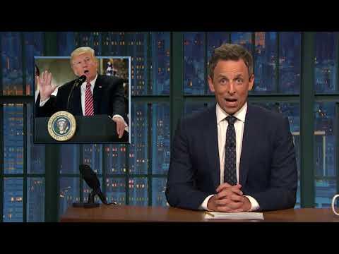 Late-night reactions: Trump