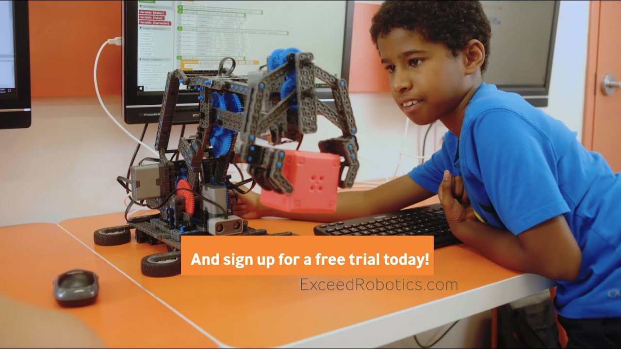 Robotics and AI Classes for kids aged 7-17