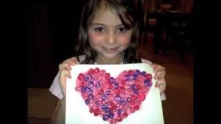 DIY: Rolled 3D Paper Valentine  ♡ Theeasydiy #Crafty