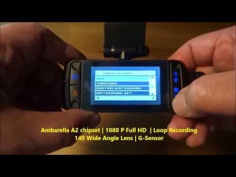Cobra CDR 825E Car Dash Camera Unboxing
