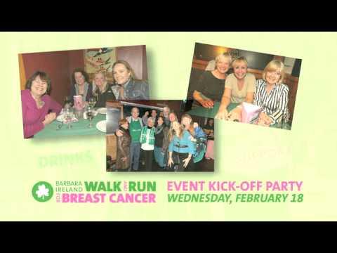 Dargan's Santa Barbara Presents: Barbara Ireland Walk and Run Kick-Off Party