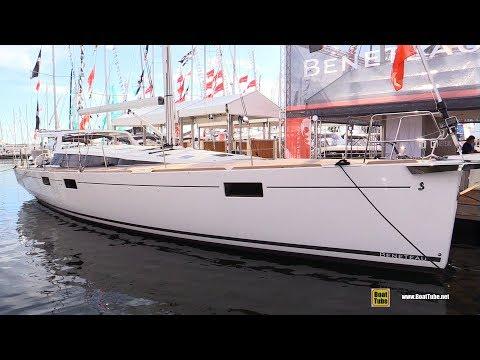 2017 Beneteau Sense 57 Yacht Review - Deck And Interior Walkaround - 2017 Annapolis Sail Boat Show