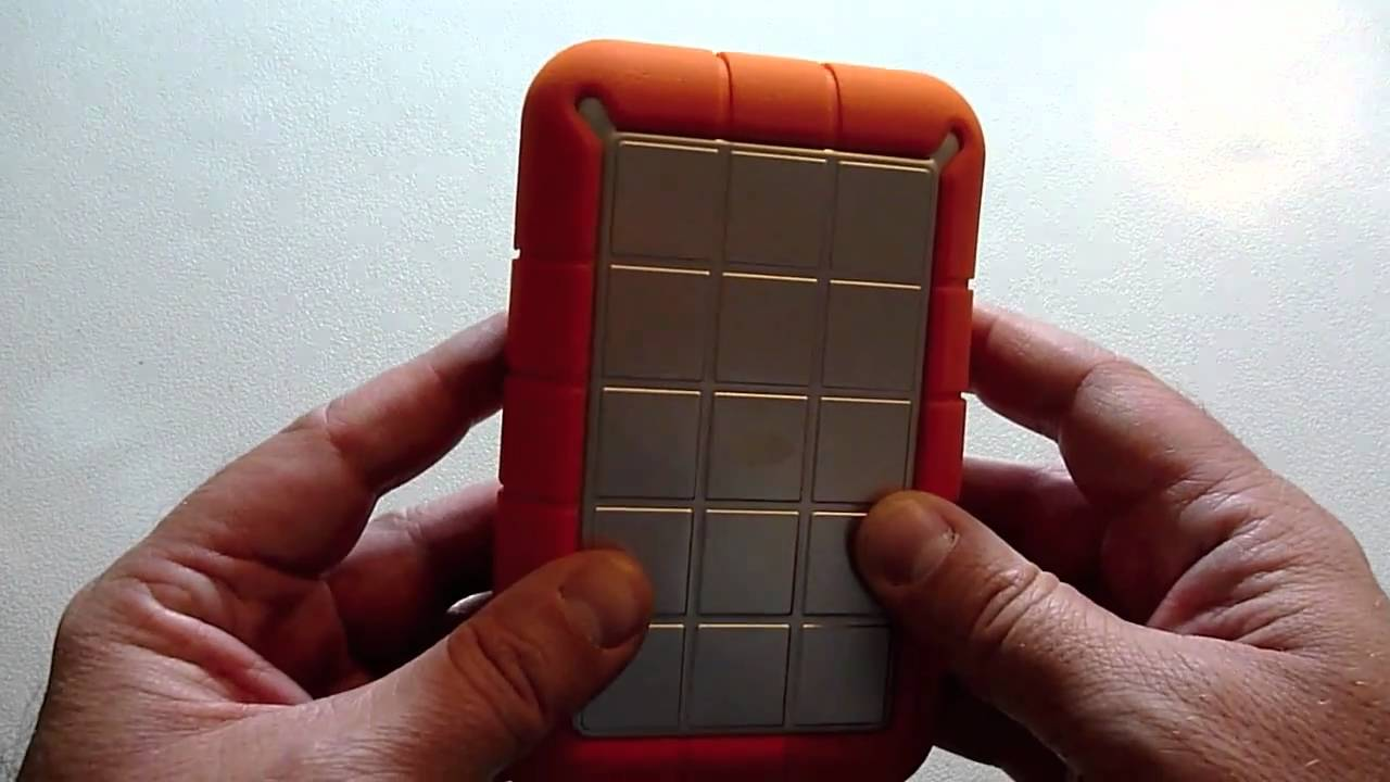 LaCie 1TB (Terabyte) USB Rugged Orange Hard Disk Review   YouTube